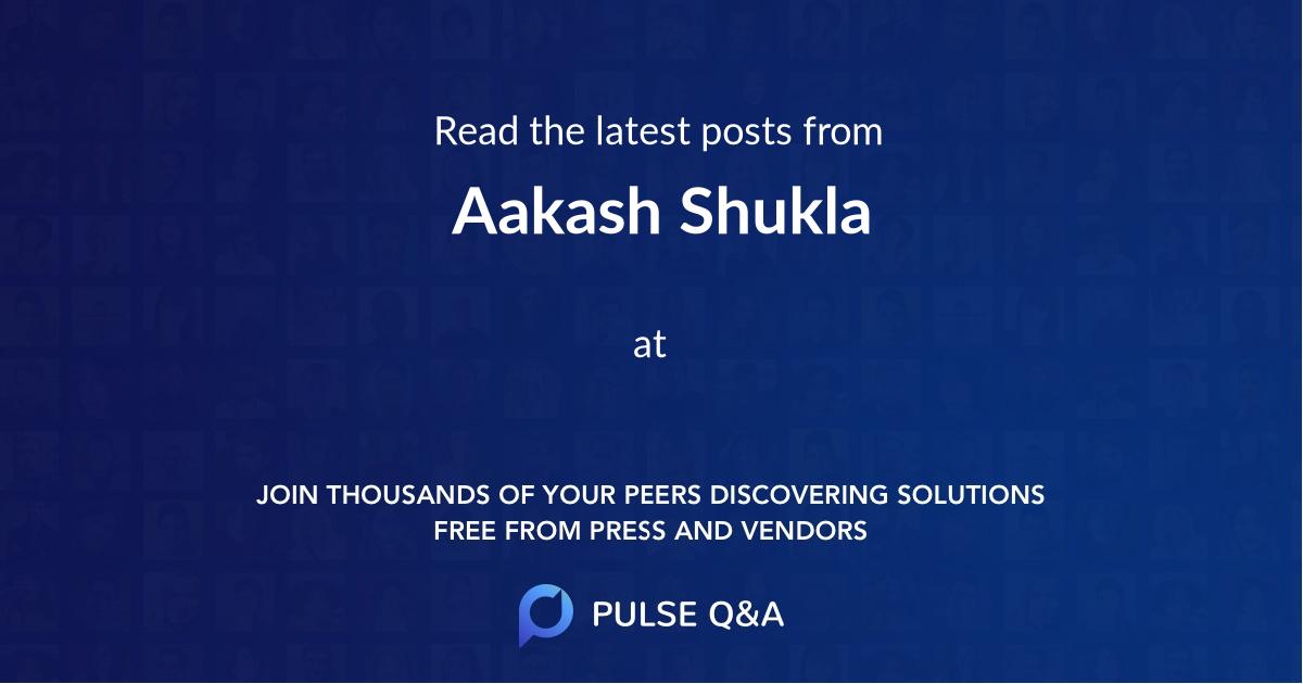 Aakash Shukla