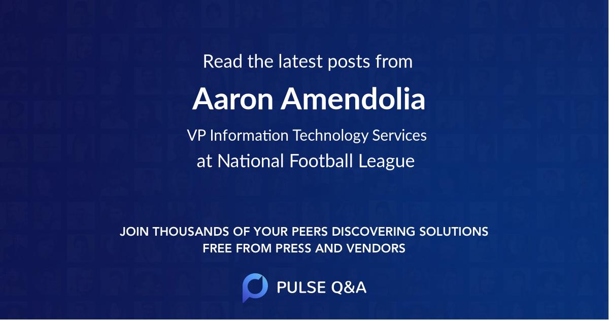 Aaron Amendolia