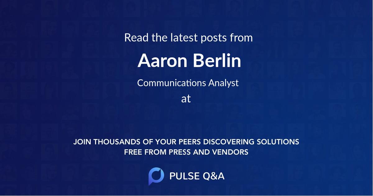 Aaron Berlin
