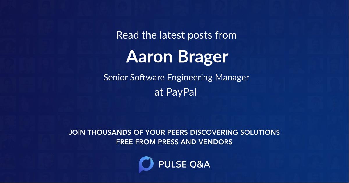 Aaron Brager