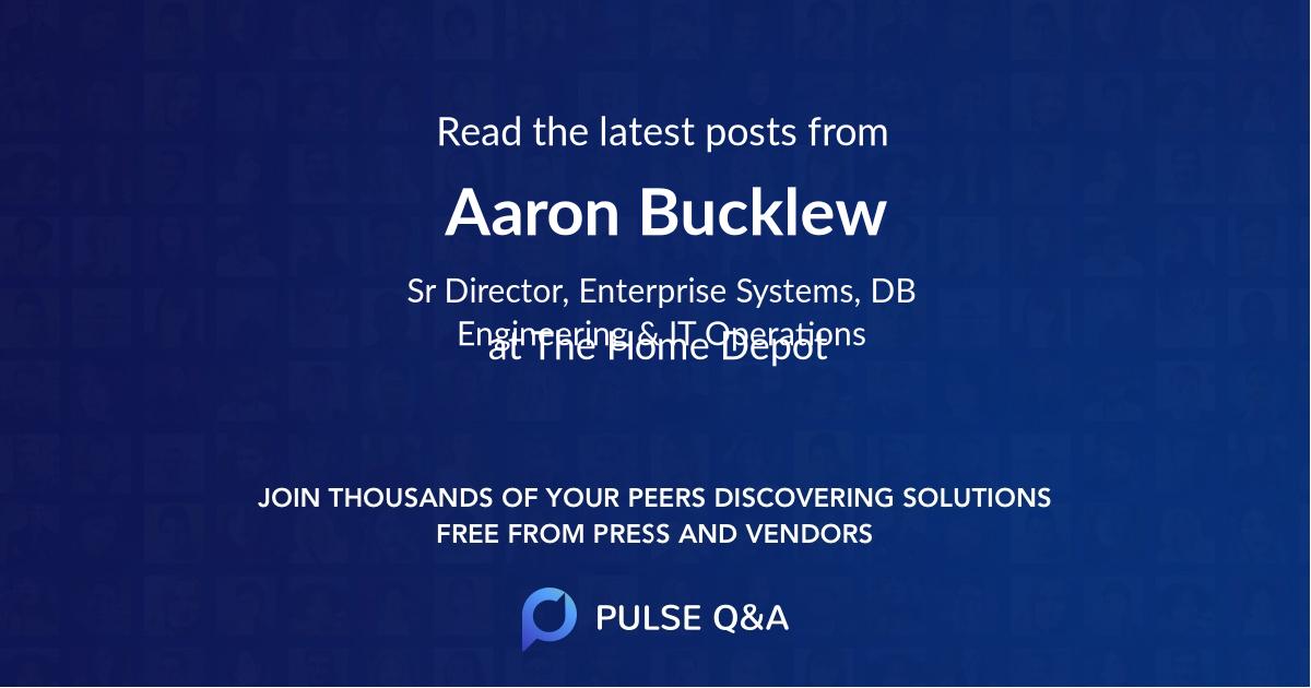 Aaron Bucklew