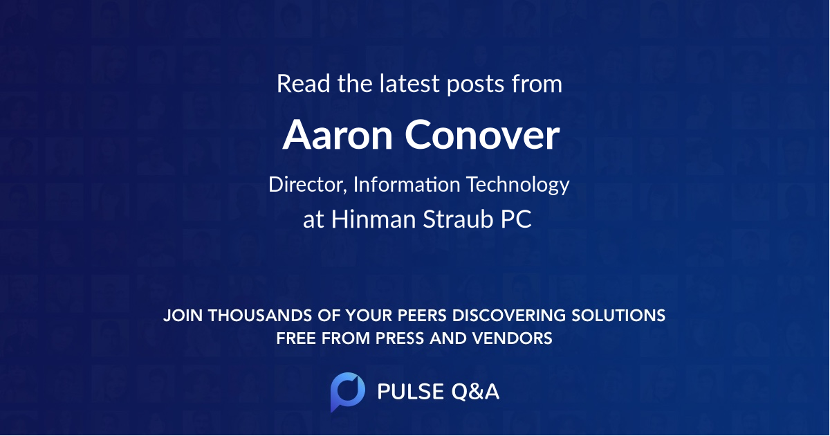 Aaron Conover