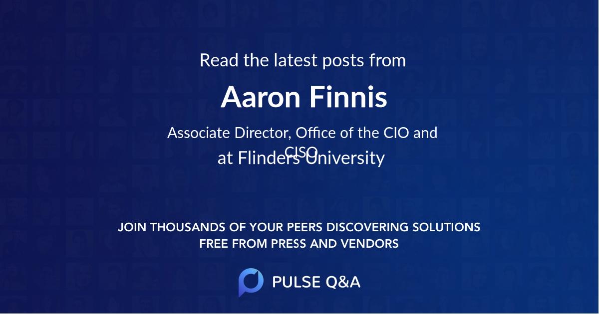 Aaron Finnis