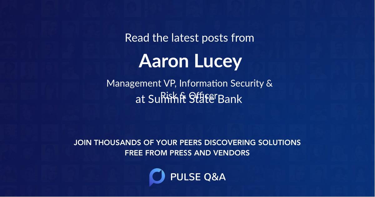 Aaron Lucey