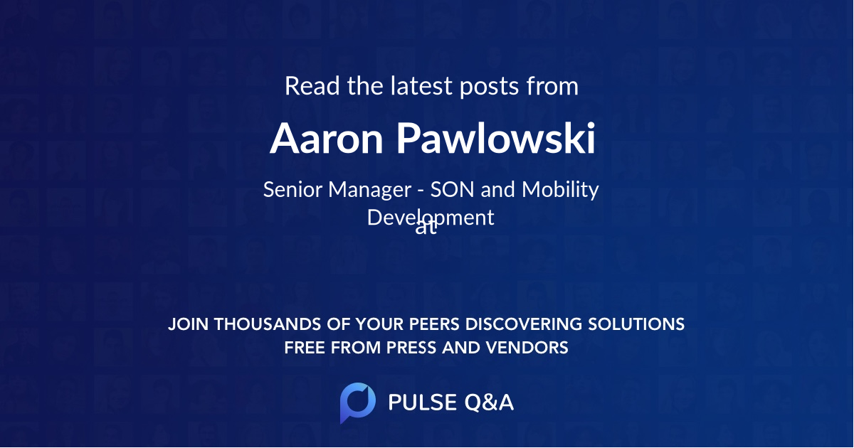 Aaron Pawlowski