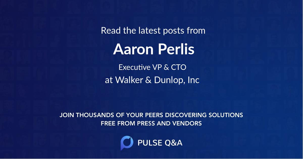 Aaron Perlis