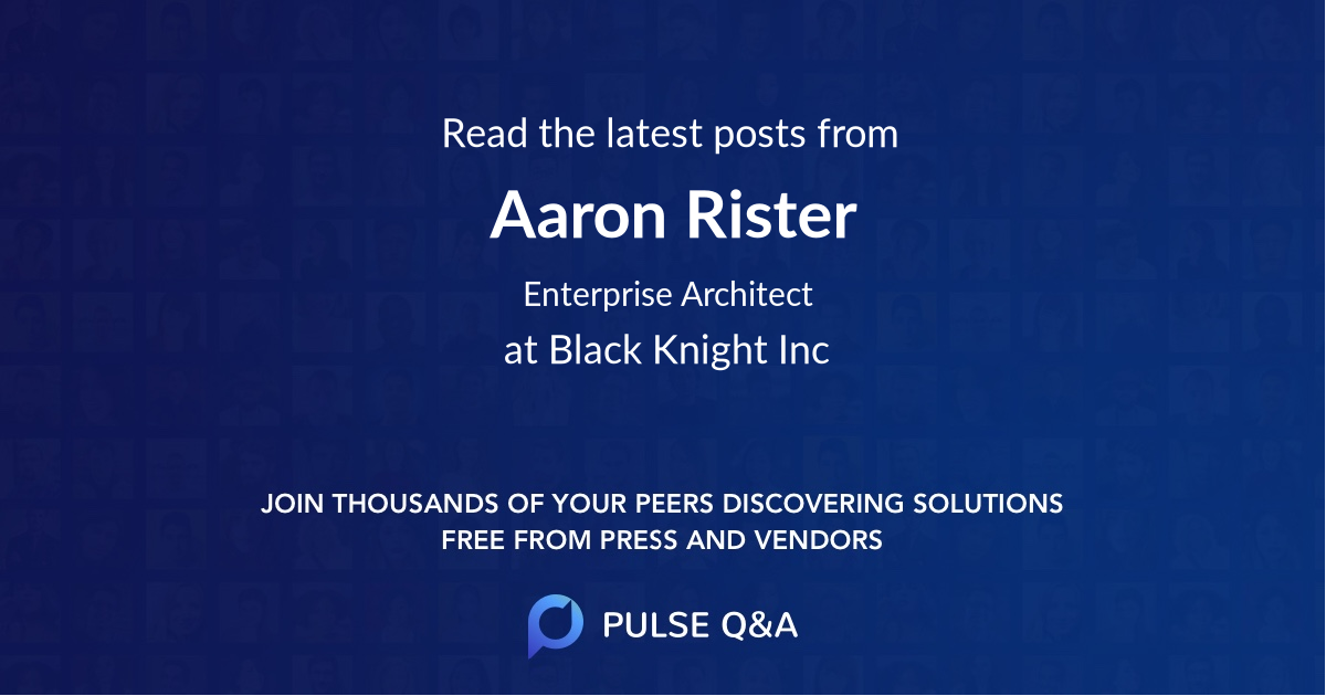 Aaron Rister