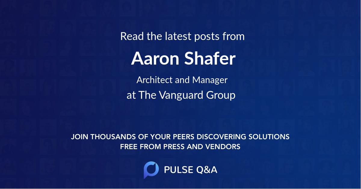 Aaron Shafer