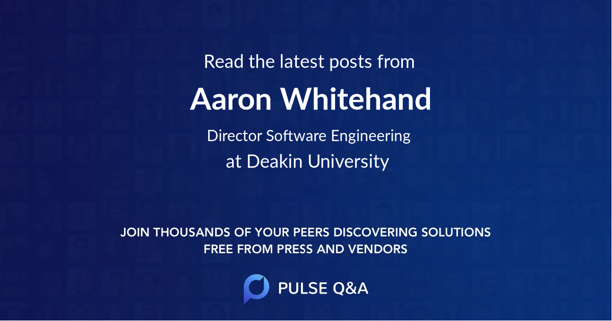 Aaron Whitehand