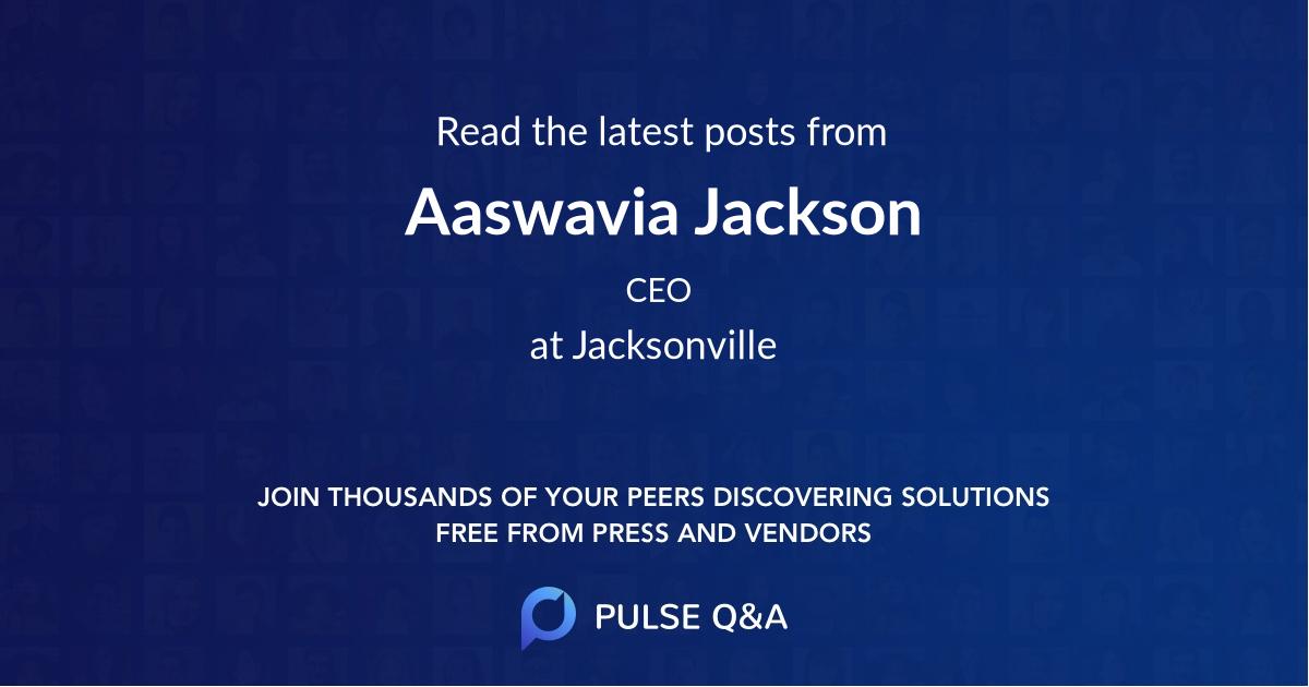 Aaswavia Jackson