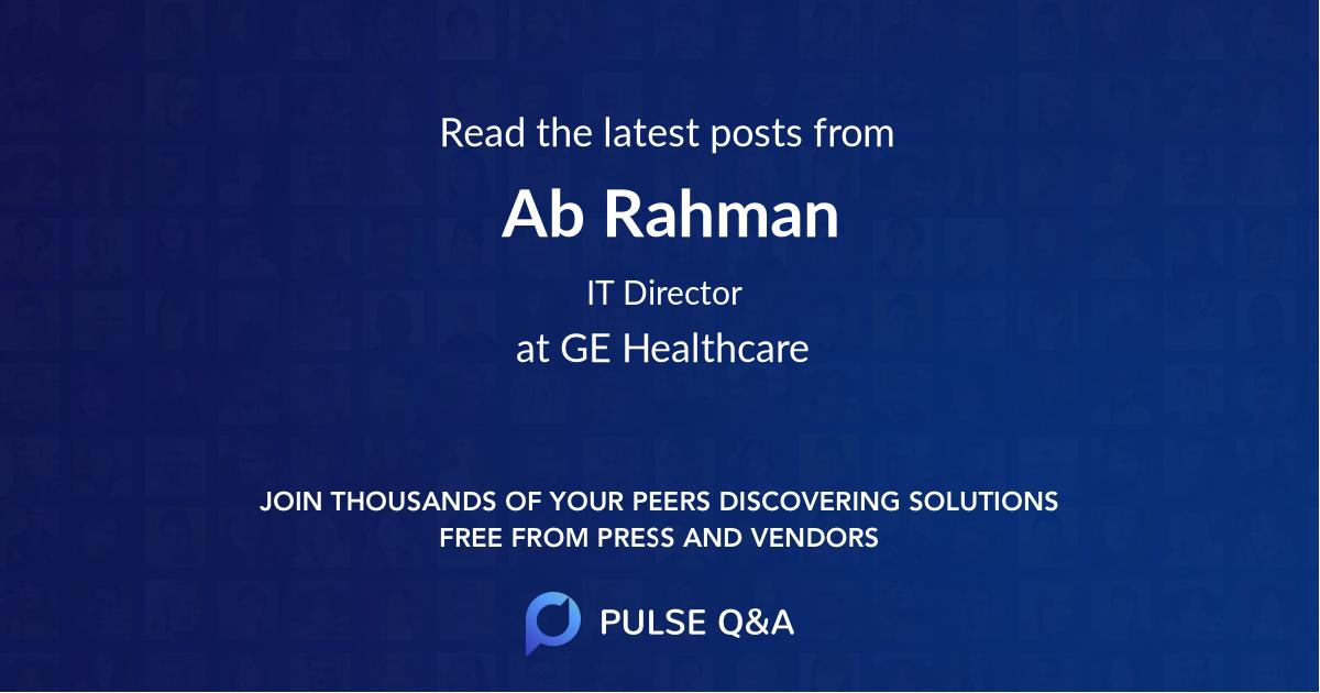 Ab Rahman