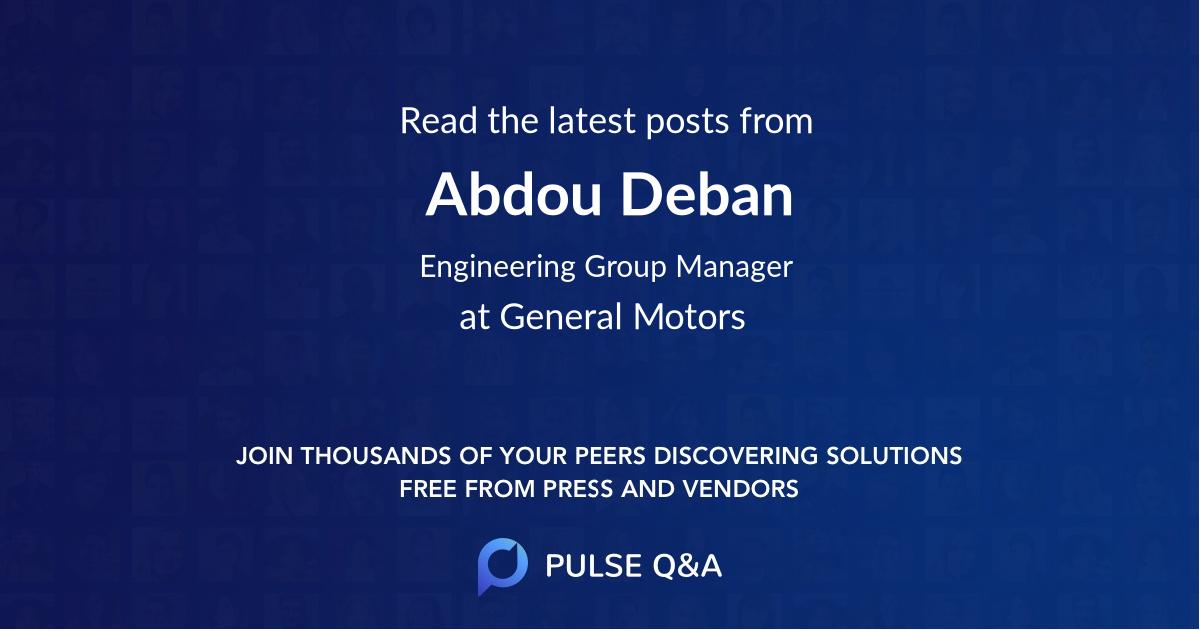Abdou Deban