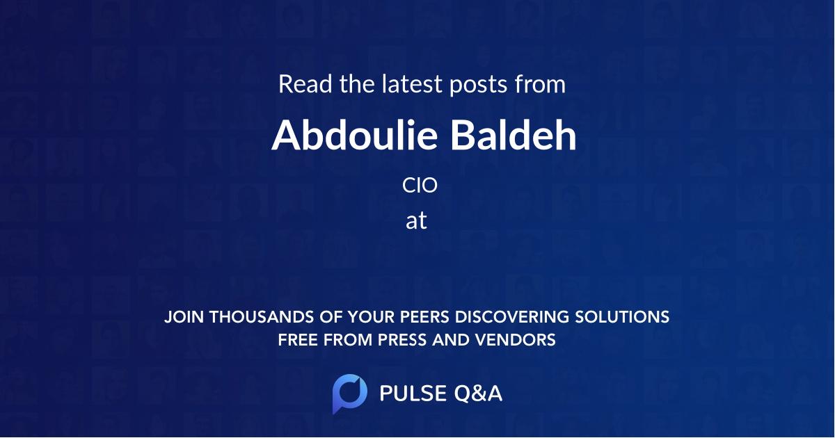 Abdoulie Baldeh