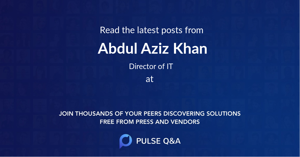 Abdul Aziz Khan