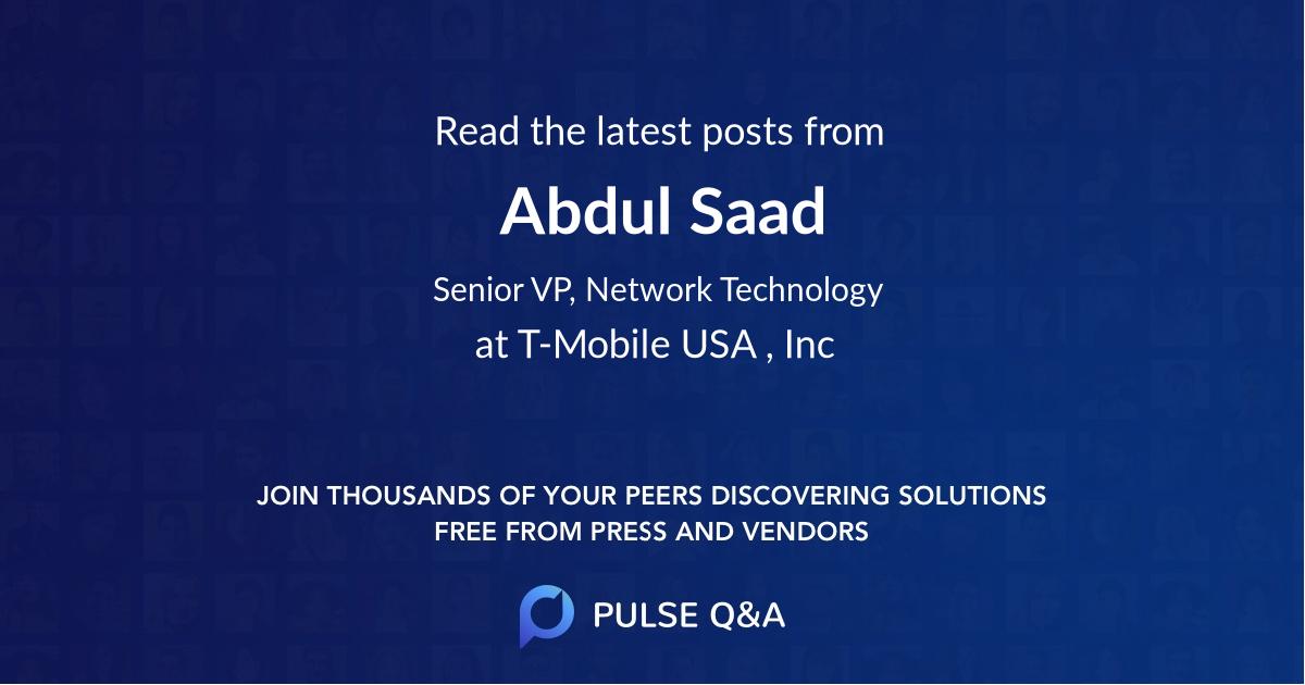 Abdul Saad