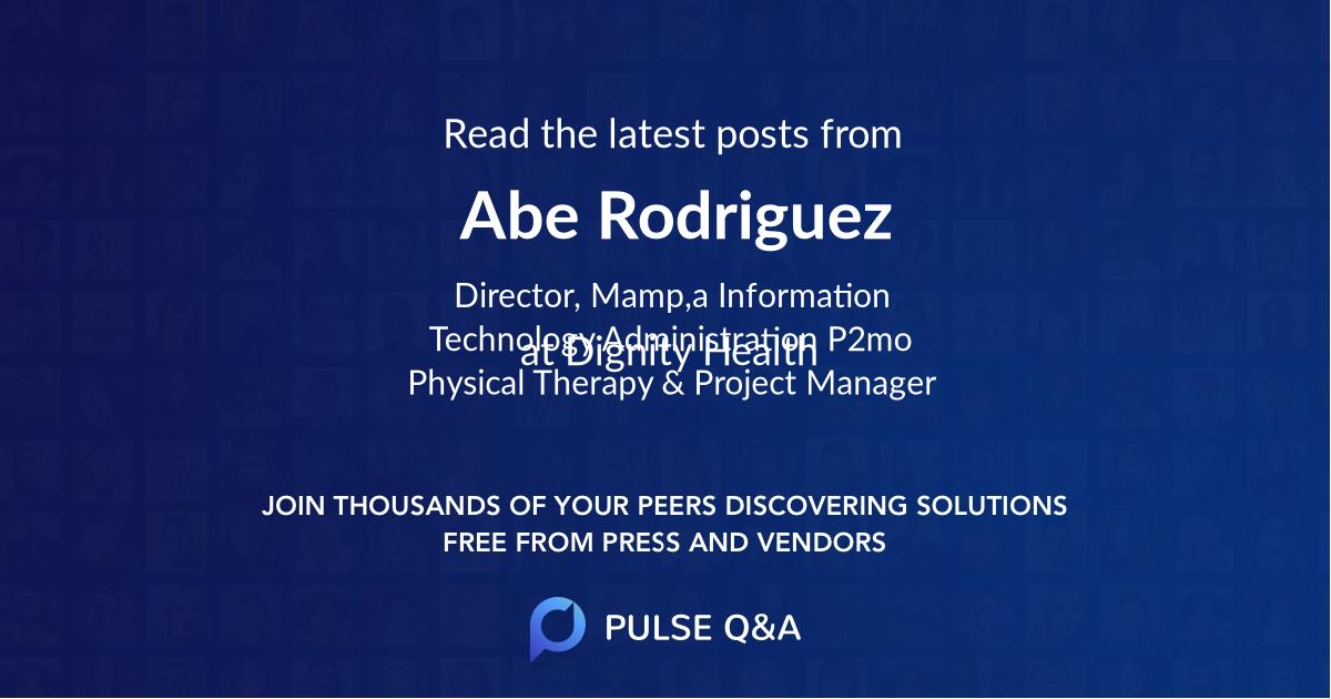 Abe Rodriguez