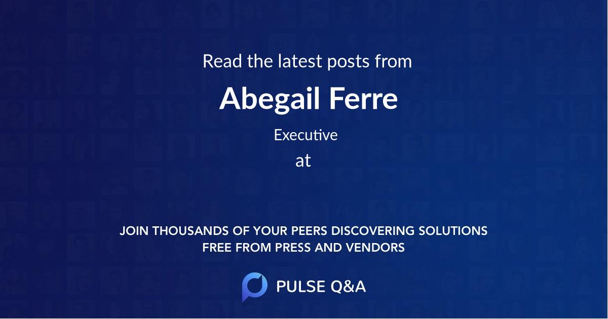 Abegail Ferre