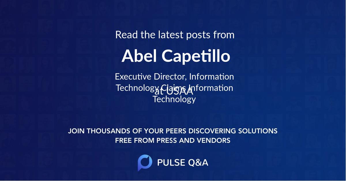 Abel Capetillo