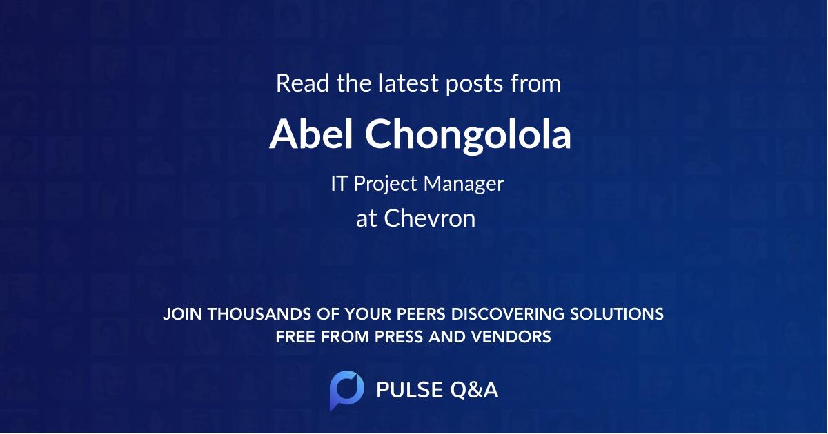 Abel Chongolola