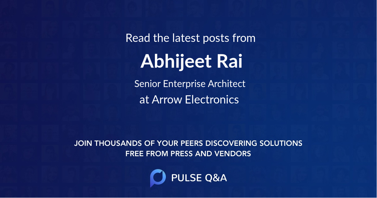 Abhijeet Rai