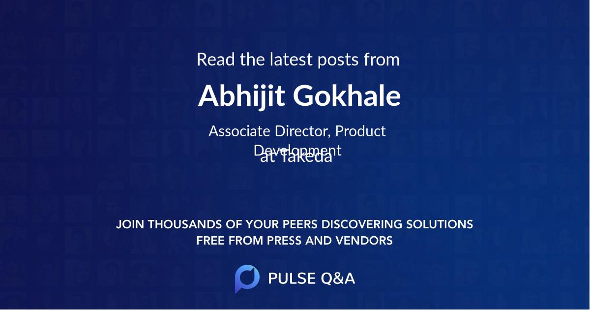 Abhijit Gokhale