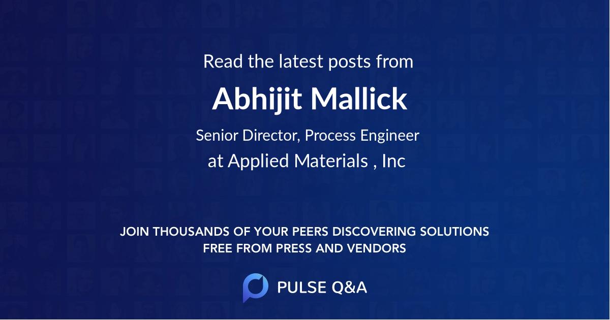 Abhijit Mallick