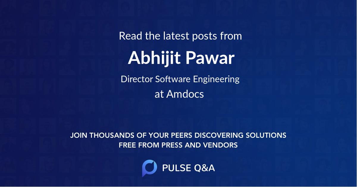 Abhijit Pawar