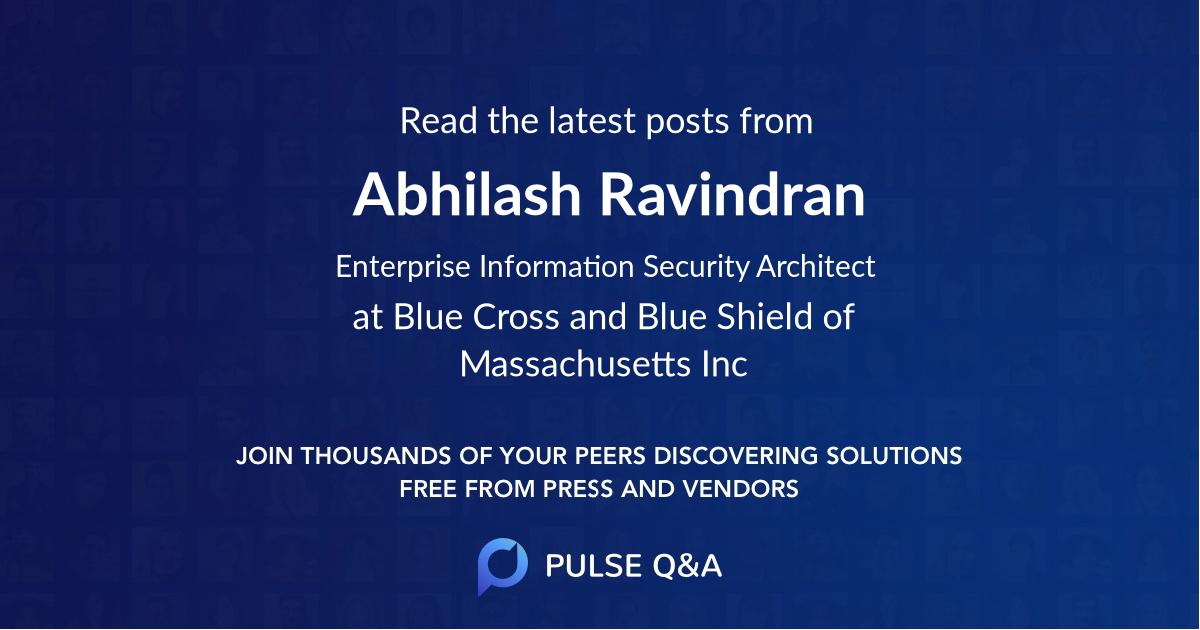Abhilash Ravindran