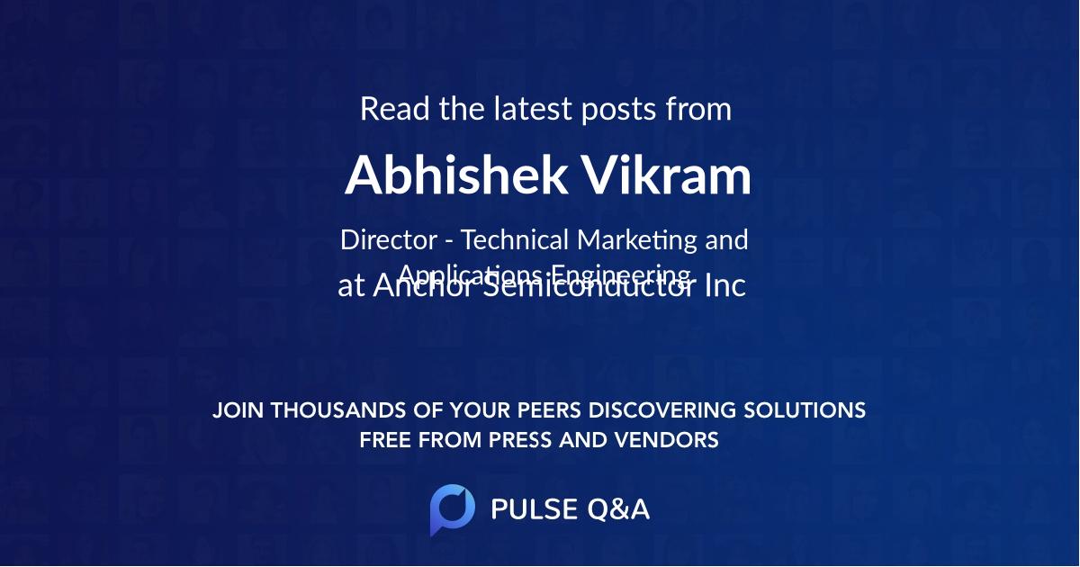 Abhishek Vikram