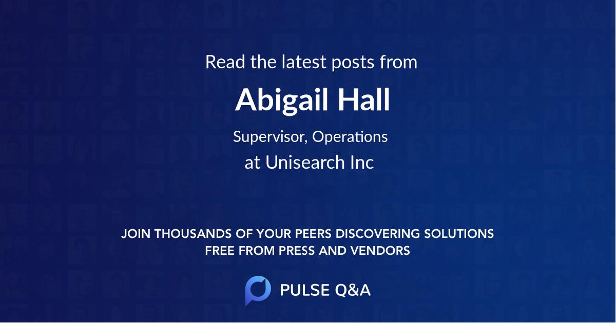 Abigail Hall