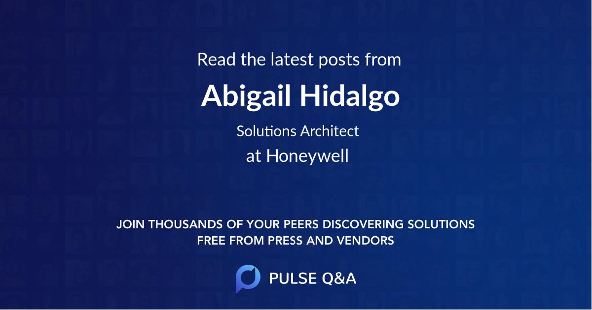 Abigail Hidalgo
