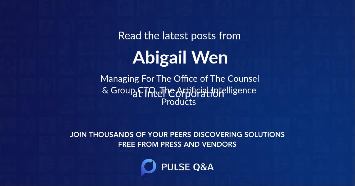 Abigail Wen