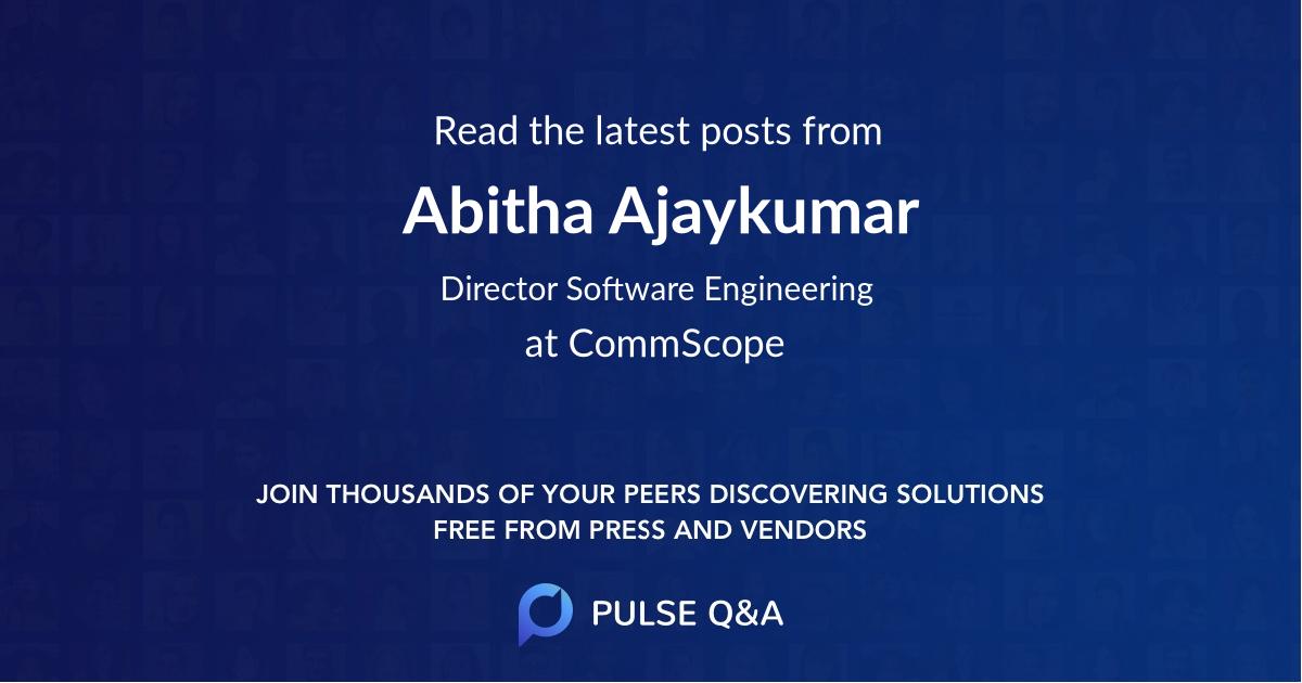 Abitha Ajaykumar