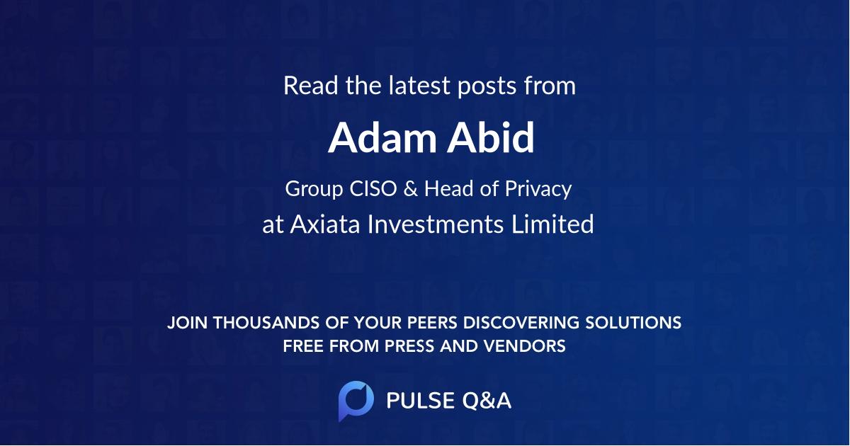 Adam Abid