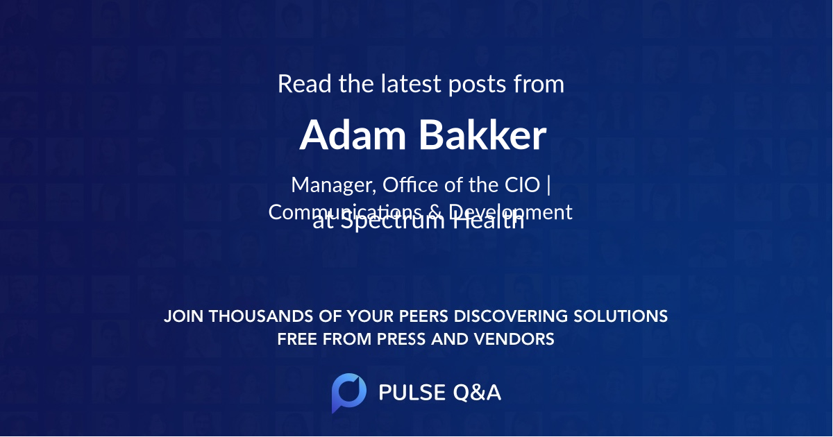 Adam Bakker