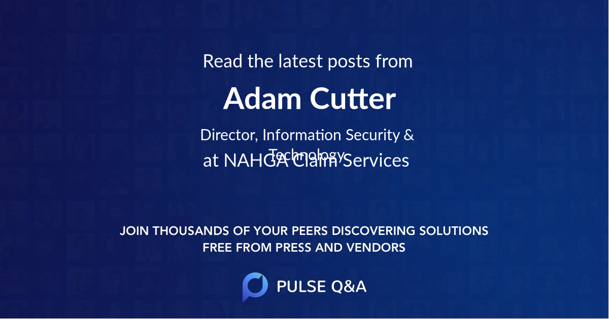 Adam Cutter