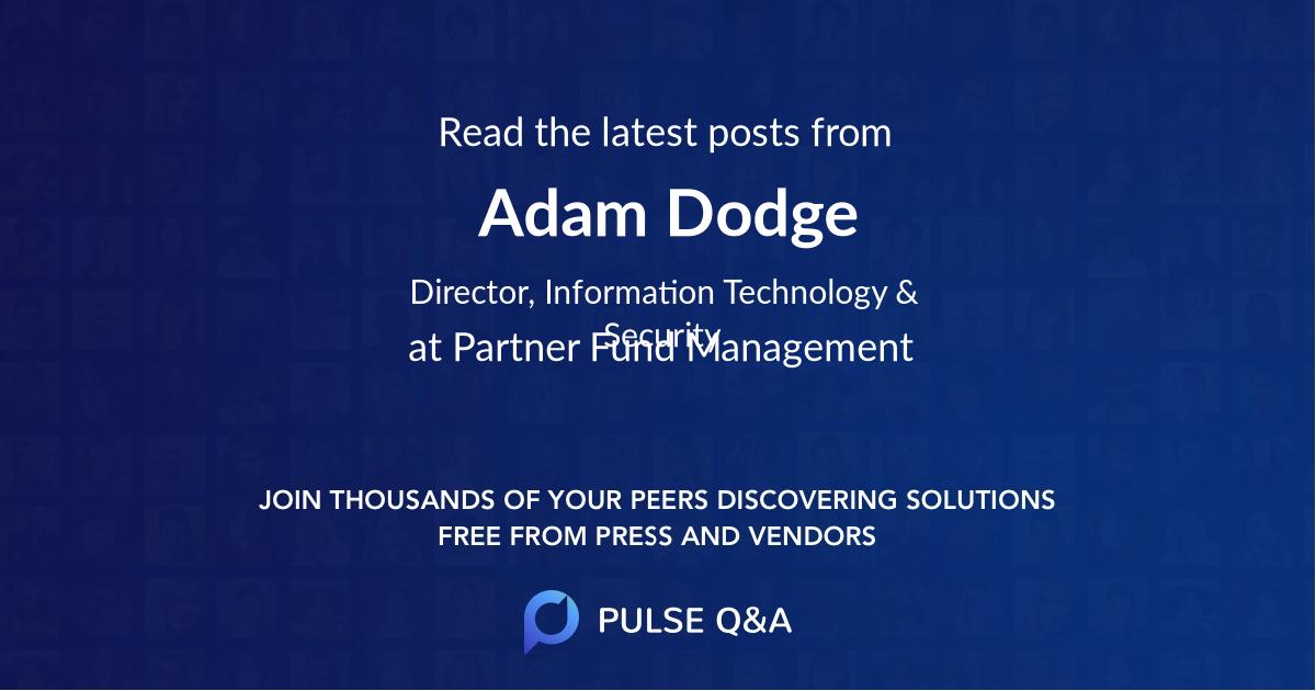 Adam Dodge