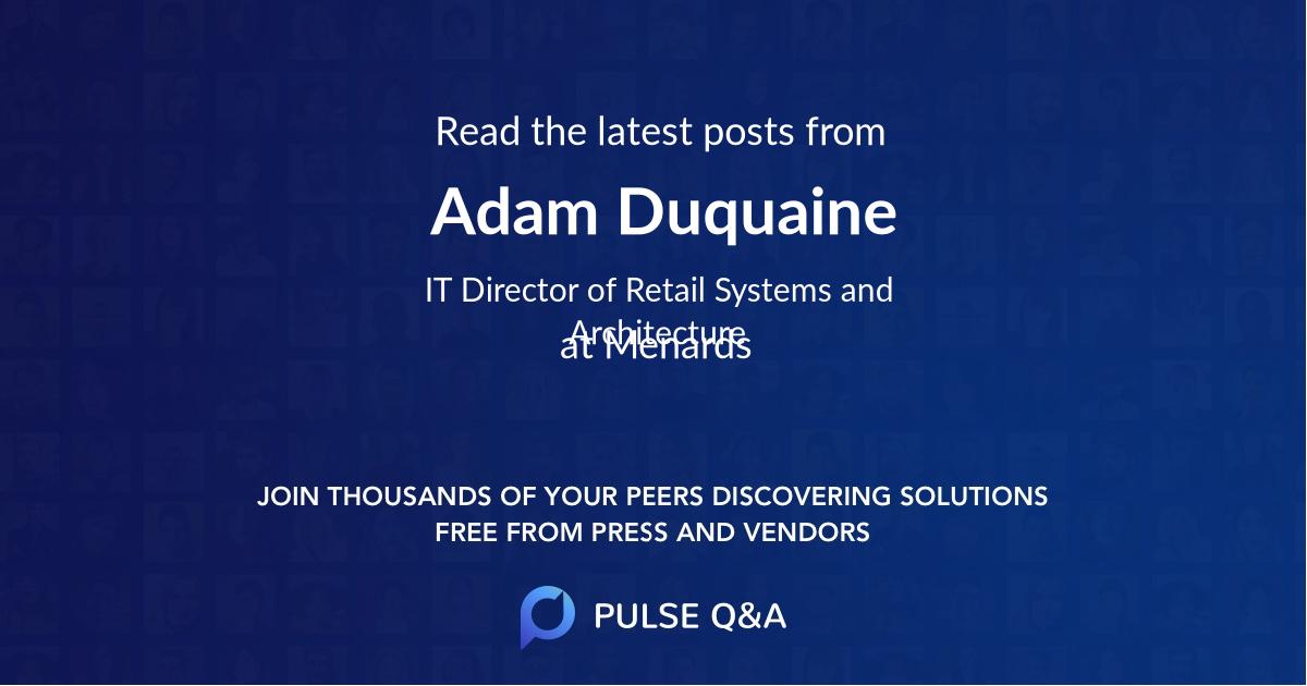 Adam Duquaine