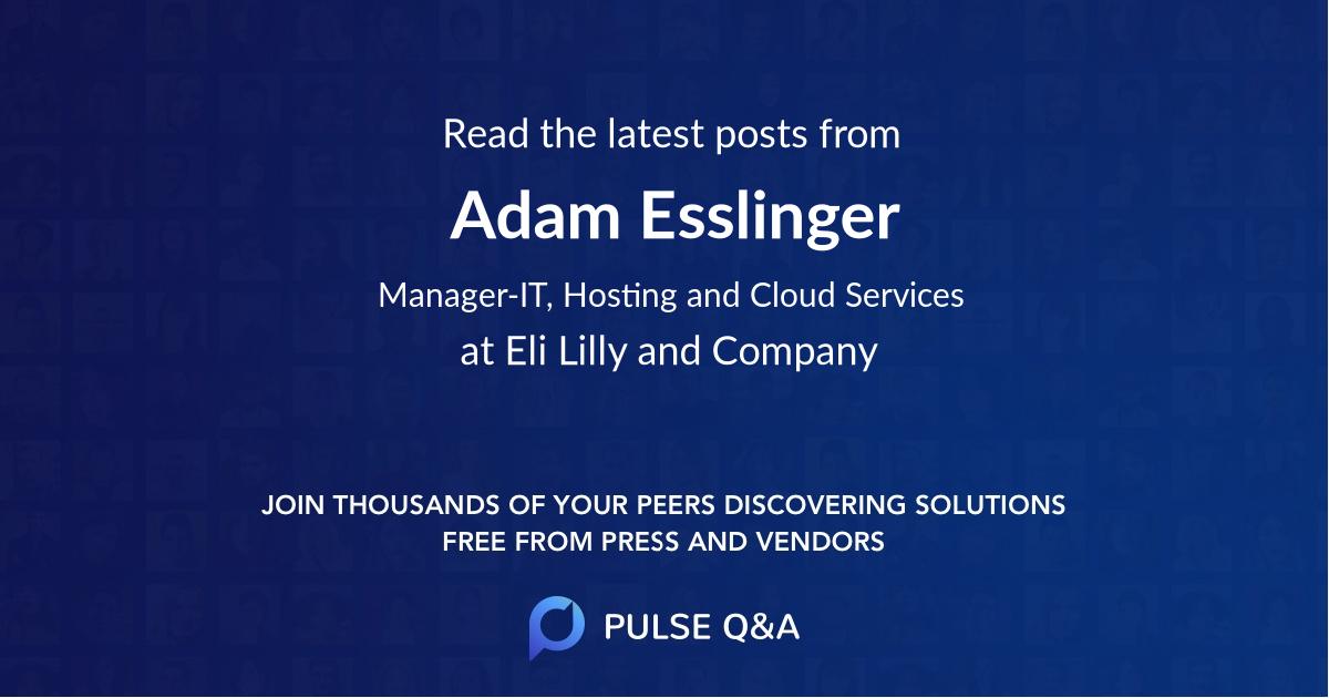 Adam Esslinger