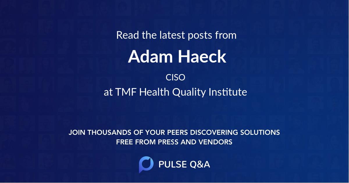 Adam Haeck