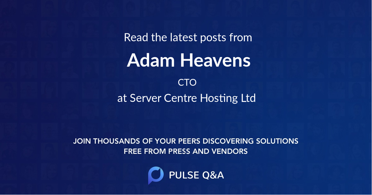 Adam Heavens