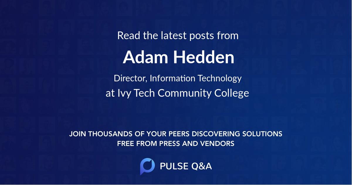 Adam Hedden