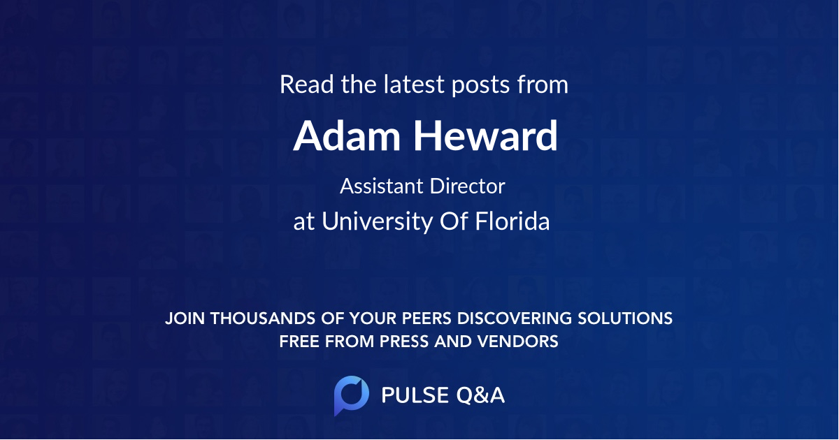 Adam Heward