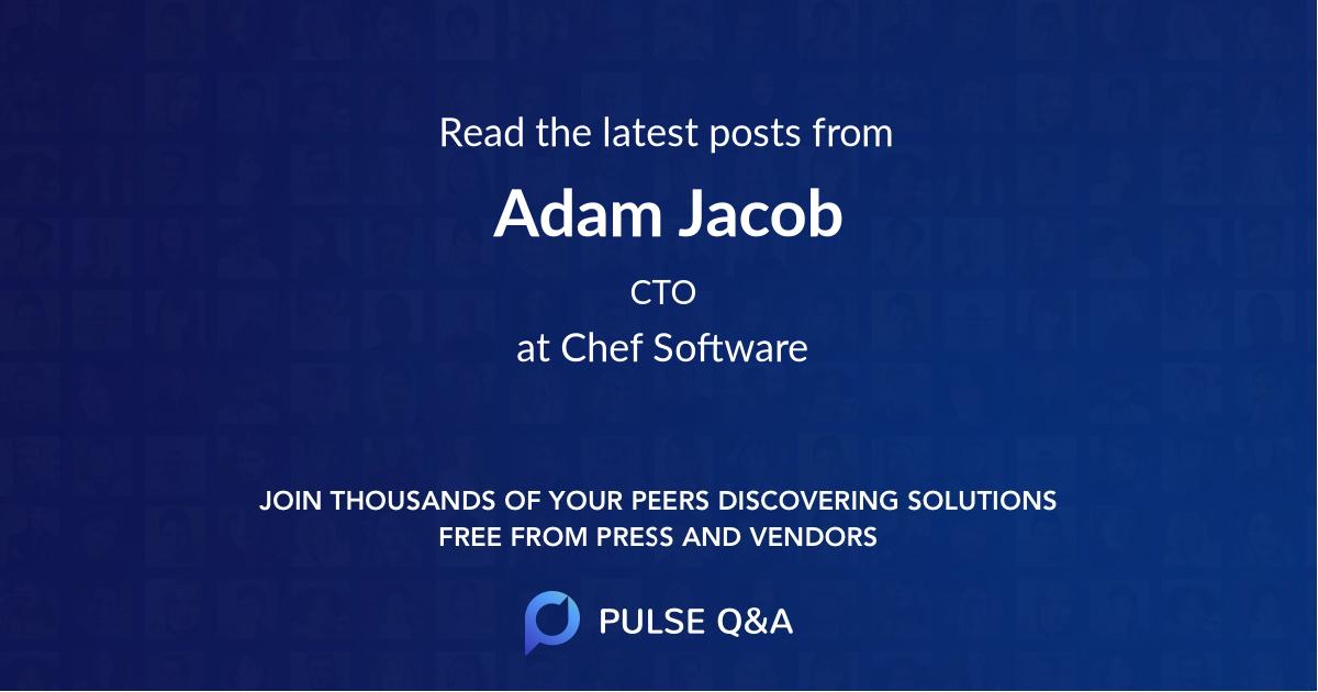 Adam Jacob