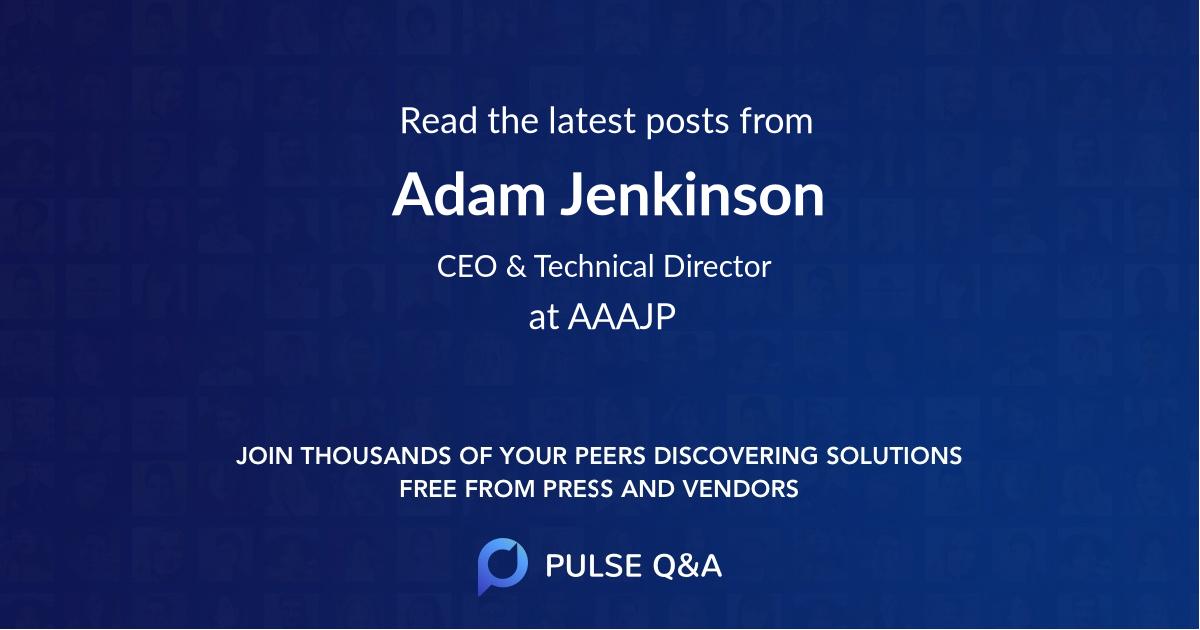 Adam Jenkinson