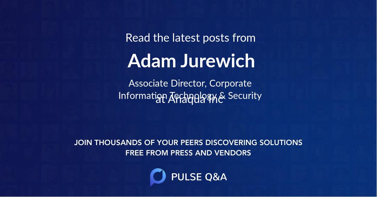 Adam Jurewich