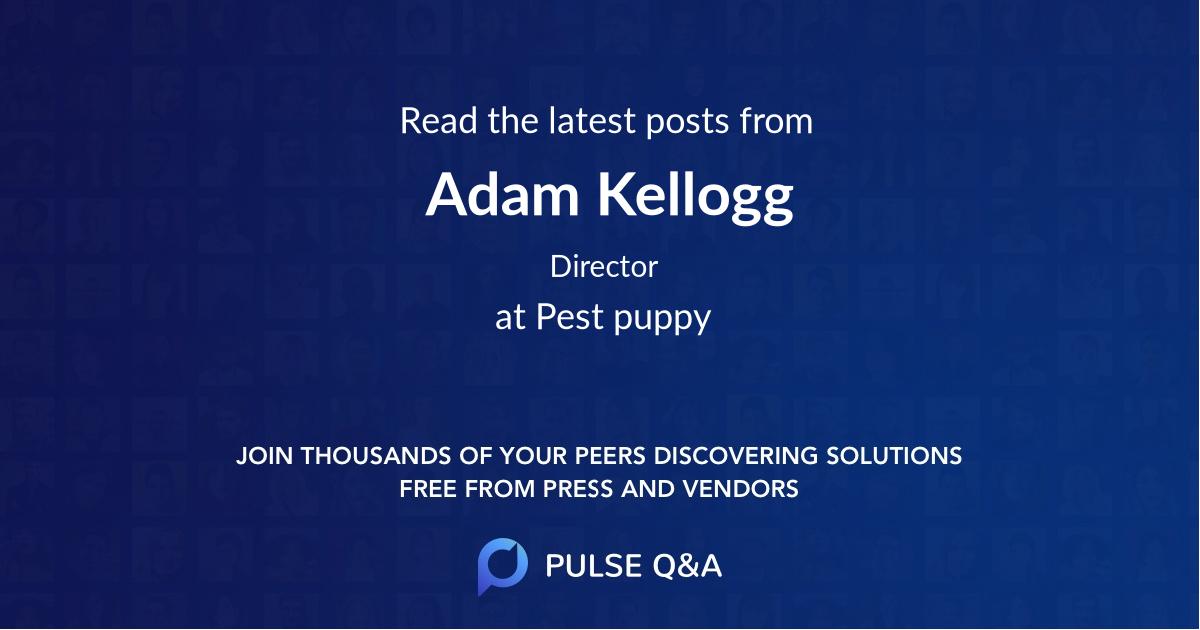 Adam Kellogg