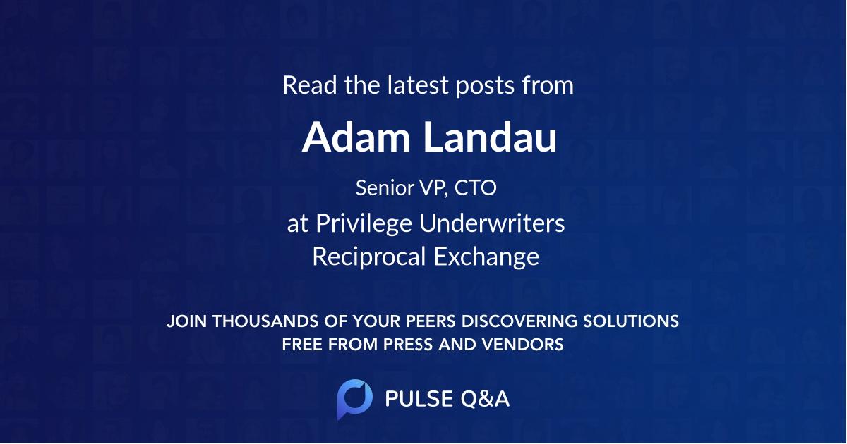 Adam Landau