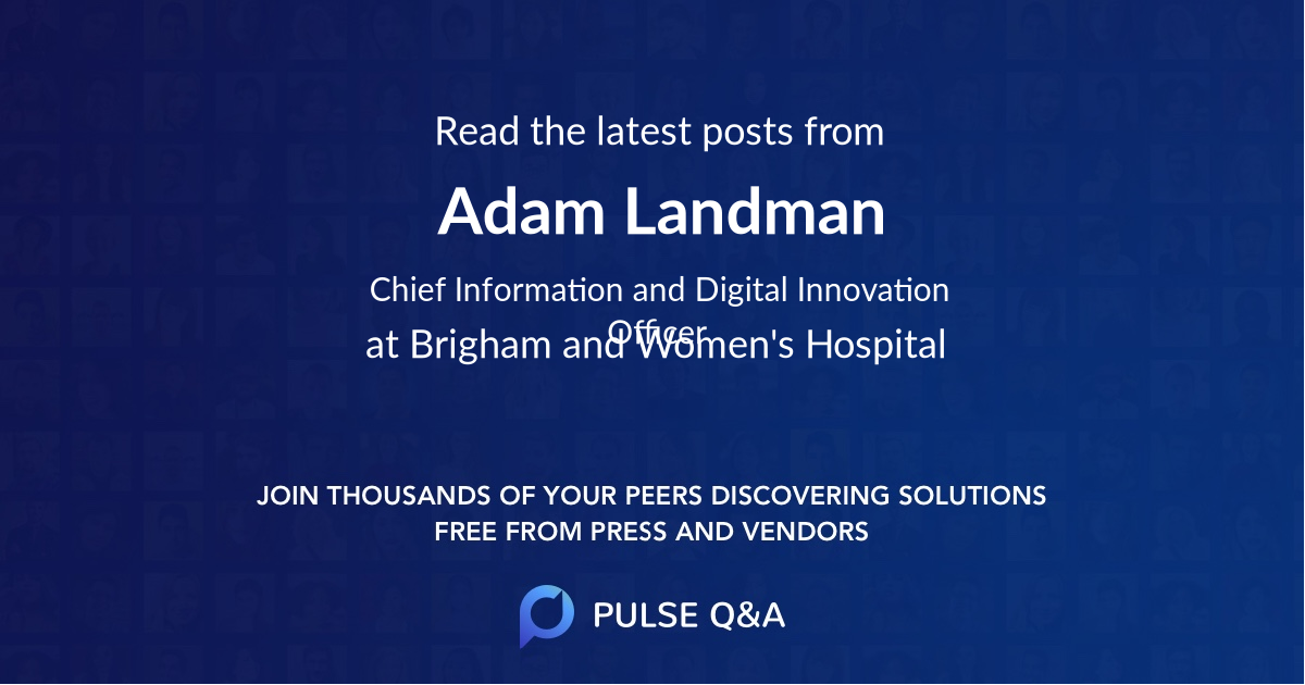 Adam Landman