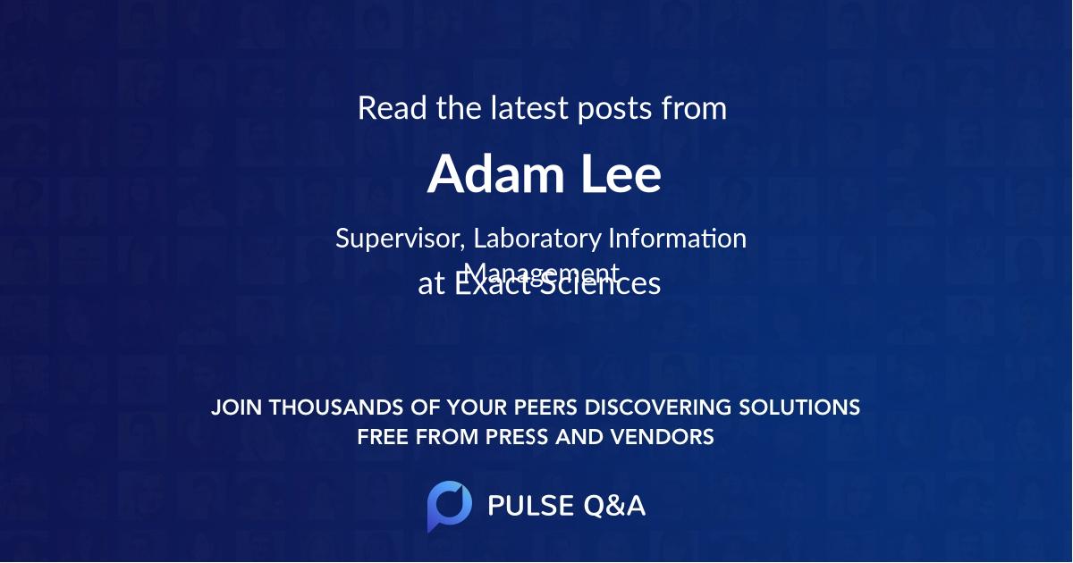 Adam Lee
